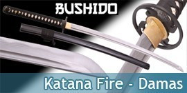 Bushido - Katana Forgé Fire - Damas