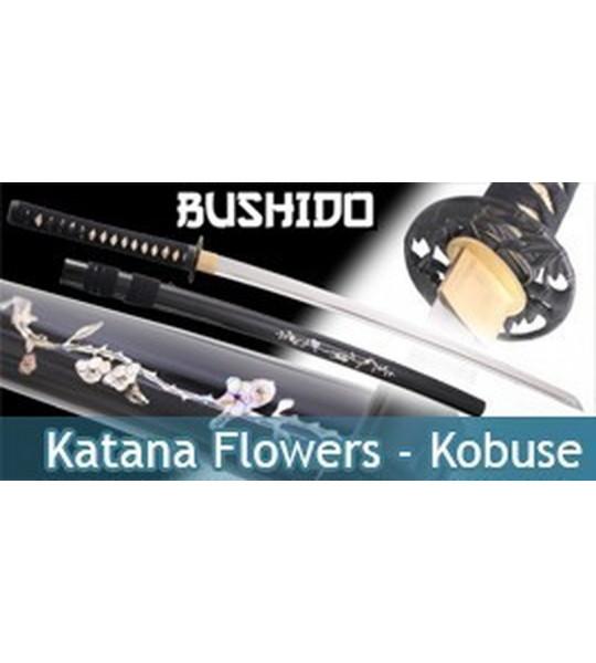 Bushido - Katana Forgé Flowers - Kobuse