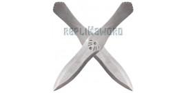 Ezio - Set 2 Couteaux a lancer Reproduction