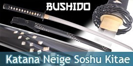 Bushido - Katana Forgé Neige - Soshu Kitae