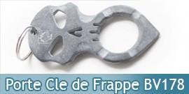 Porte Clé de Frappe Skull BV178 United Cutlery