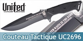 Couteau tactical Fighter UC2696 United Cutlery