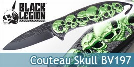 Couteau Pliant Skull BV197 Zombie United Cutlery