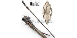 Le Hobbit Baton Gandalf Le Gris + Pipe UC3108 United Cutlery