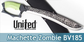 Machette Zombie BV185 United Cutlery