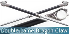 Epee Double Lame Dragon Claw