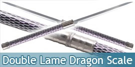 Epee Double Lame Dragon Scale