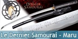 Katana Le Dernier Samourai Lame Maru Master Cutlery Ten Ryu