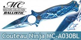 Couteau Pliant Ninja Blue Masters Collection MC-A030BL