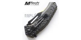 Couteau Pliant Gold Black MT-A920GD Mtech USA
