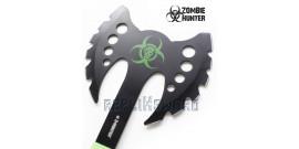 Hachette Double Lame Zombie Hunter ZB-AXE12