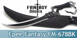 Epee Courte Ninja Fantasy Master Black FM-678BK