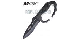 Couteau Poignard Poing Americain Mtech MT-20-51BD