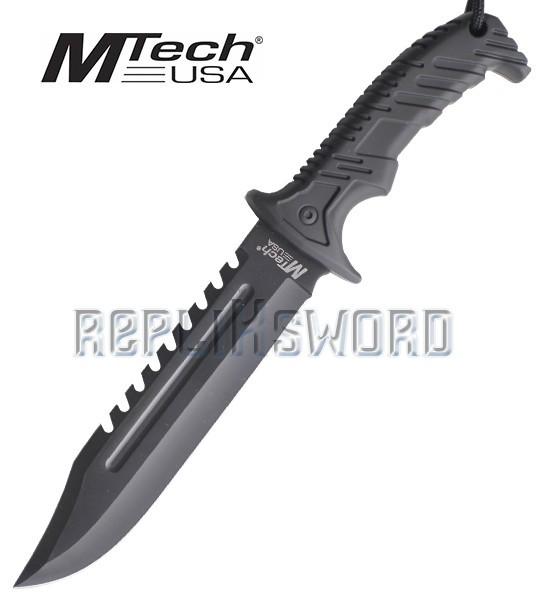 Couteau de Chasseur Poignard Mtech MT-20-57BK