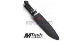 Poignard Assault Couteau Mtech MT-20-04 Tactique
