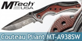 Couteau Pliant Brown Edition MT-A938SW