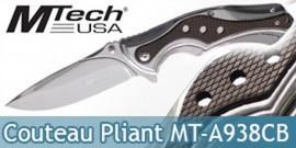 Couteau Pliant Silver Edition MT-A938CB
