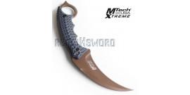 Couteau Karambit Bronze Edition MX-8140BT