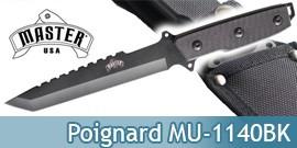 Couteau de Chasseur MU-1140BK Poignard