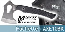 Hachette Mtech USA Xtreme Hache Camping MX-AXE10BK