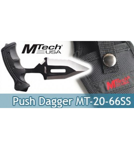 Couteau Push Dagger Mtech USA MT-20-66SS