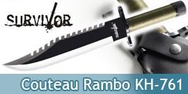 Couteau de Rambo Replique Poignard HK-761