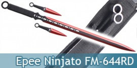 Epee Ninjato Red Edition Ninja Shinobi FM-644RD