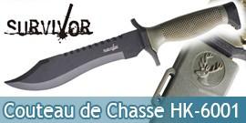 Couteau de Chasse Survivor HK-6001 Master Cutlery