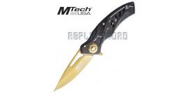 Couteau Pliant Gold Edition MT-A917BG Mtech USA
