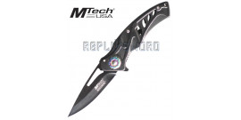 Couteau Pliant Black Edition MT-A917BK Mtech USA