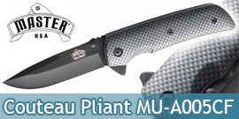 Couteau de Poche Master USA MU-A005CF