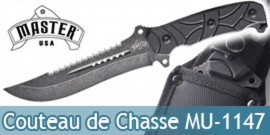Couteau de Chasse Master USA MU-1147 Chasseur