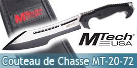 Couteau de Chasse Tactique Chasseur MT-20-72