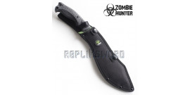 Machette Zombie Hunter Green Kukri Couteau ZB-117GN