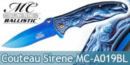 Couteau de Poche Blue Sirene Master Collection