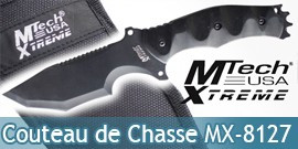 Couteau de Chasse MX-8127 Chasseur Tactique