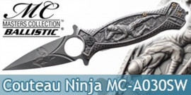 Couteau Pliant Ninja Black Masters Collection MC-A030SW