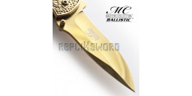 Couteau de Poche Doré Sirene Master Collection
