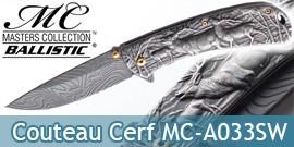 Couteau Pliant de Chasseur Edition Grey MC-A033SW