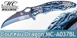 Couteau de Poche Blue Dragon MC-A037BL