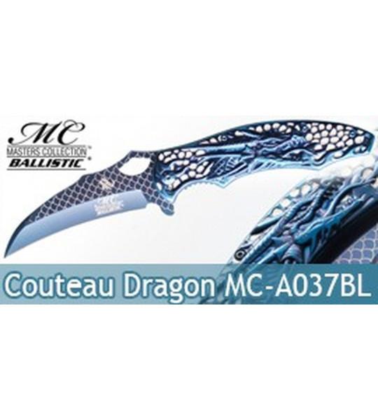 Couteau de Poche Blue Dragon MC-A037BL