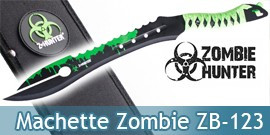 Machette Zombie Hunter Coupe Coupe ZB-123