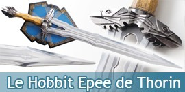 Le Hobbit Replique Epee Regal Thorin Oakenshield Sabre