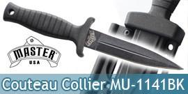 Petit Couteau de Collier Neck Knife MU-1141BK