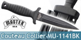 Petit Couteau de Collier Neck Knife MU-1141BK