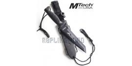 Couteau de Chasse Black Mtech USA MT-676TB