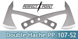Double Hache a Lancer Hachette PP-107-S2