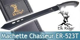 Machette de Chasseur Epee Courte Elk Ridge ER-523T
