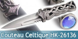 Couteau Celtique Dague HK-26136 Fantasy