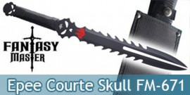 Epee Courte Dragon Fantasy Master Machette FM-671